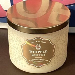B&BW Whipped Coffee Three Wick Scented Candle